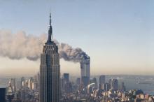 Теракт 9/11. Фото: Marty Lederhandler / AP