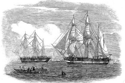 Исследователям удалось найти вАрктике корабль, затонувший 170 лет назад