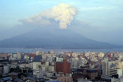 Японии угрожает крупное извержение вулкана— Ученые
