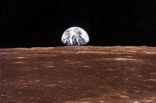 Лунный горизонт. Фото: NASA