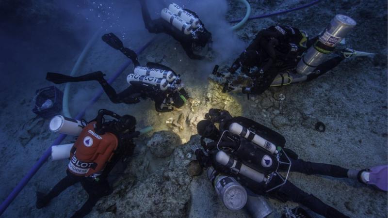 Наместе обнаружения век назад Антикитерского механизма отыскали человеческий скелет