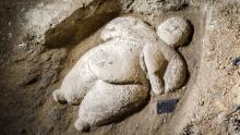 Мраморная женская фигурка из Чатал-Хююк