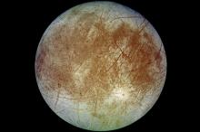 Европа. Фото: DLR / JPL / NASA