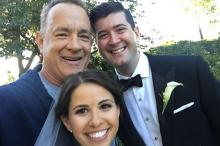 Том Хэнкс с Элизабет и Райаном. Фото: @tomhanks