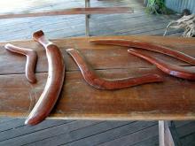 Бумеранги австралийских аборигенов
