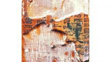 Бамбуковая дощечка с фрагментом изречений Конфуция из некрополя Хайхуньхоу. Фото: CTV News