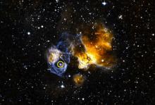 Расположение LMC P3 в Большом Магеллановом Облаке. Изображение: NASA