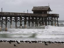 Ураган приближается к Флориде. Getty Images. Фото: М.Вилсон
