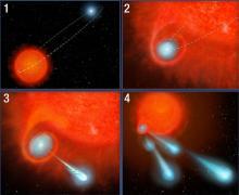 Иллюстрация NASA, ESA & A. Feild (STScI)