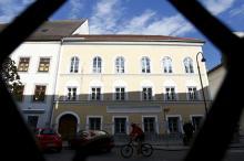 Дом в Браунау-ам-Инн, в котором родился Адольф Гитлер. Фото: Dominic Ebenbichler / Reuters