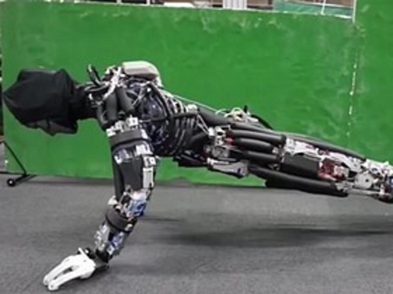 Японские исследователи разработали робота, который потеет