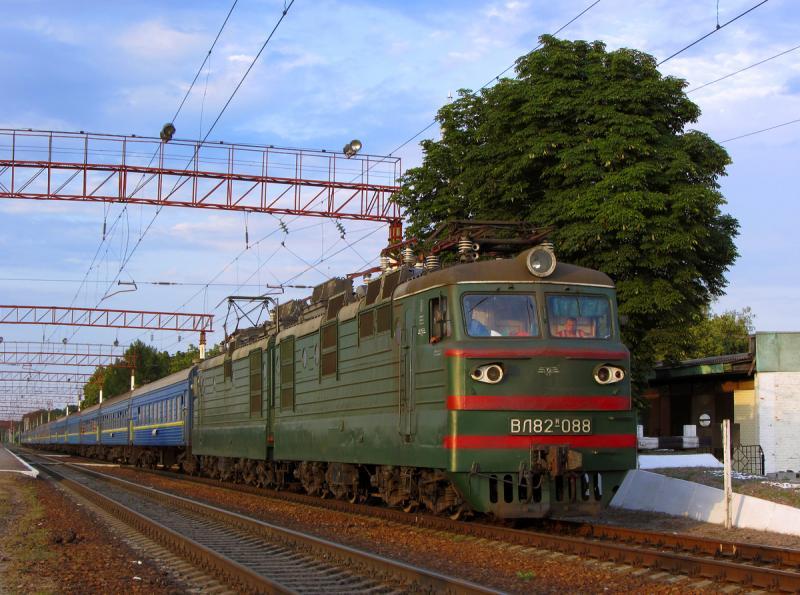 С19октября поезд №92 Одесса— Константиновка будет курсировать ежедневно