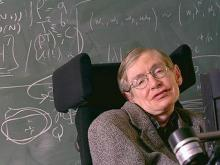 Стивен Хокинг. Фото с сайта hawking.org.uk