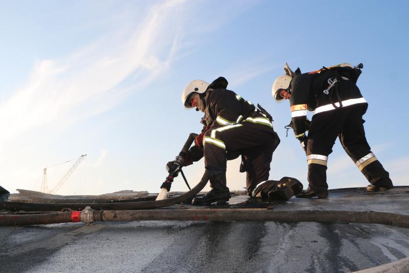 НаФонтанской дороге горела гостиница