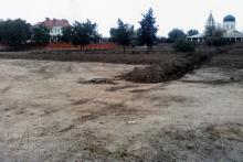 Несанкционированные земельные работы на участке бывшего монастырского сада, фото из отчета специализированной археологической экспертизы