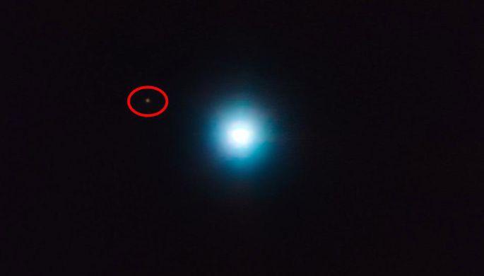 Удалось сфотографировать огромную планету запределами Солнечной системы— Ученые