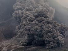 Извержение вулкана Синабунг (архив). Getty Images. Фото: У.Ифансасти