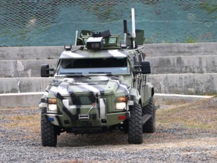 ВУкраинском государстве презентовали 1-ый беспилотный броневик