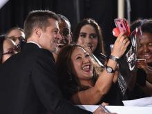 Брэд Питт на презентации фильма Союзники. 9 ноября 2016 года. Getty Images. Фото: Ф.Харрисон