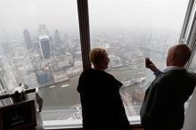 Смог в Лондоне. Фото: Lefteris Pitarakis / AP