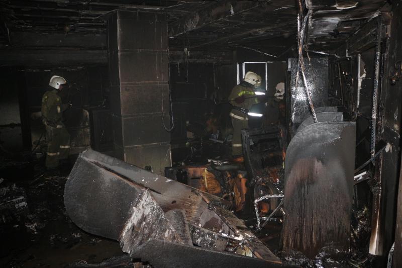 Впроцессе пожара вказино вцентре Одессы пострадали три женщины— милиция