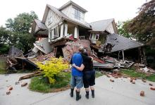 Последствия землетрясения в Новой Зеландии. Фото: Mark Baker / AP