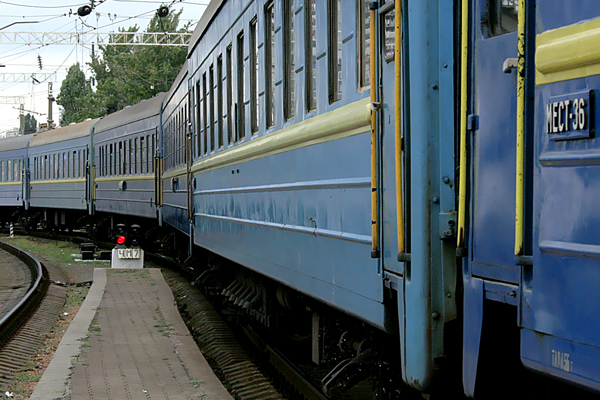 ВКиевской области поезд насмерть сбил двоих человек