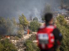В районе Иерусалима, 24 ноября 2016 года.  Flash90. Фото: Й.Зиндель
