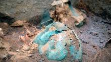 Вульчи. Бронзовые артефакты VIII века до н.э. из могилы этрусского аристократа. Фото: Parco di Vulci