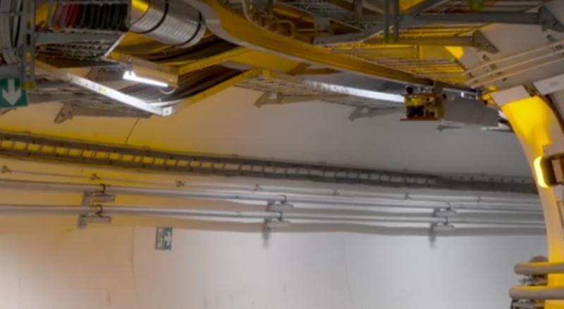 ВБольшой адронный коллайдер запустили робота-инспектора