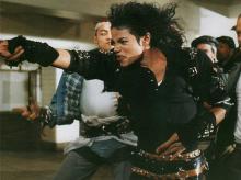 Майкл Джексон. Стоп-кадр из клипа Bad