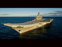 Авианесущий крейсер Адмирал Кузнецов Wikipedia.org. Фото: Mil.ru