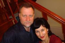 Ю. Гомельская и С. Усатенко. Фото: facebook.com/julia.gomelskaya