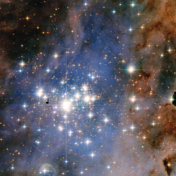 Открыта галактика изсиних звезд— НАСА