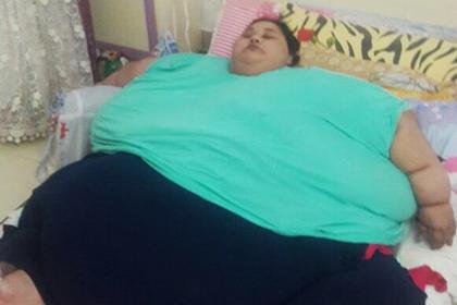 Индийские власти помогут 500-килограммовой египтянке сбросить лишний вес