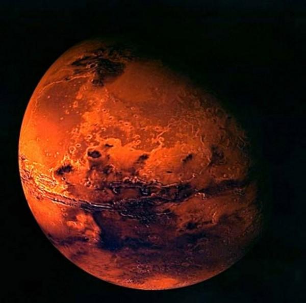 ЕКА показало видеоролик, демонстрирующий русло древней марсианской реки