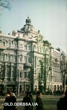 Дом Русова. Фотограф В.Г. Никитенко, 1970-е годы