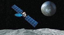 Аппарат Dawn. Иллюстрация с сайта НАСА