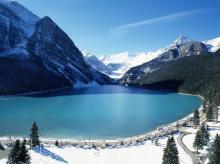 Озеро Луиза (Канада). Фото с сайта alltop10.org