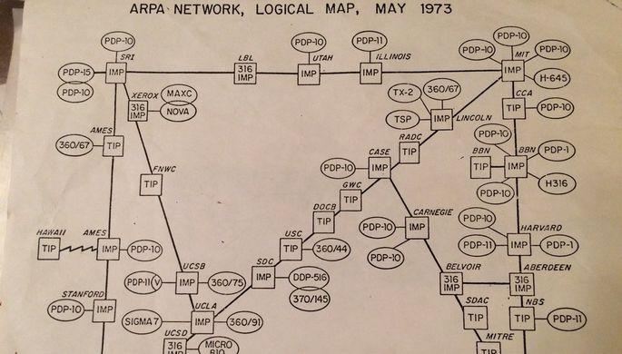 ВСША найдена карта «всего интернета»