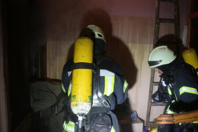 Вцентре Одессы старая женщина устроила пожар всвоей квартире