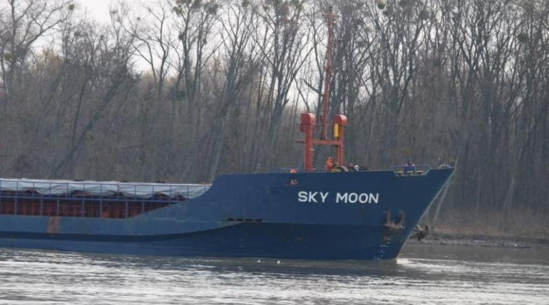 Капитану судна Sky Moon угрожает 5 лет тюрьмы зазаходы вКрым