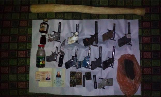 В 1-ый день 2017 года ужителя Одесской области изъяли 11 пистолетов