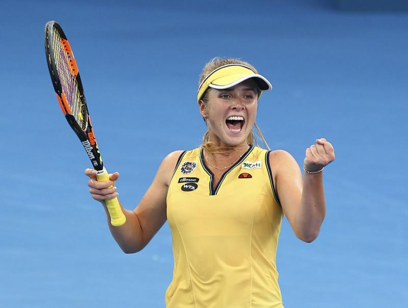 Свитолина вышла вчетвертьфинал Brisbane International