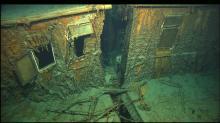 Фрагмент затонувшего лайнера. Фото с сайта naiklagi1bm.tk