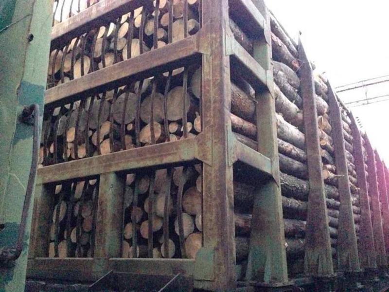 ВРумынию ввиде дров везли 56 вагонов ценной древесины— ГПСУ