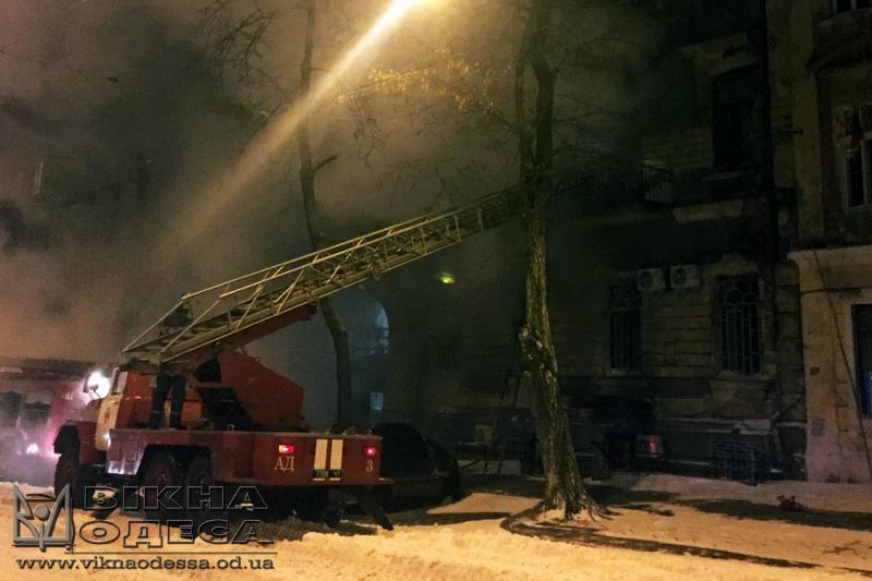 Масштабный пожар случился водесском памятнике архитектуры