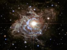 Слияние галактик. Фото с сайта nasa.gov