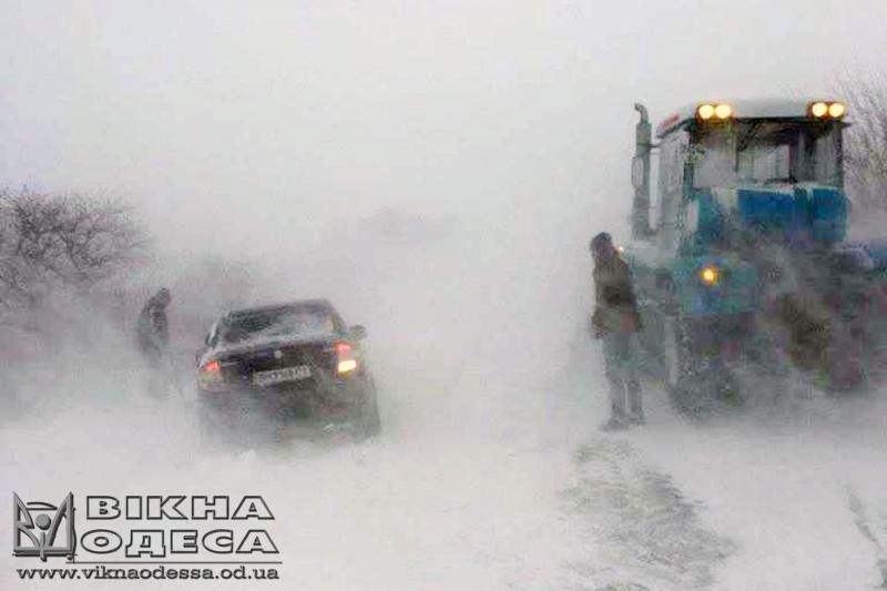 ВНиколаевской области ограничено движение всех видов транспорта