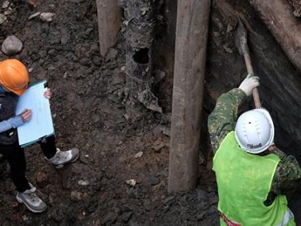 В КНР при строительстве отыскали 350-летнюю гробницу